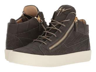 Giuseppe Zanotti May London Stamped Mid Top Sneaker