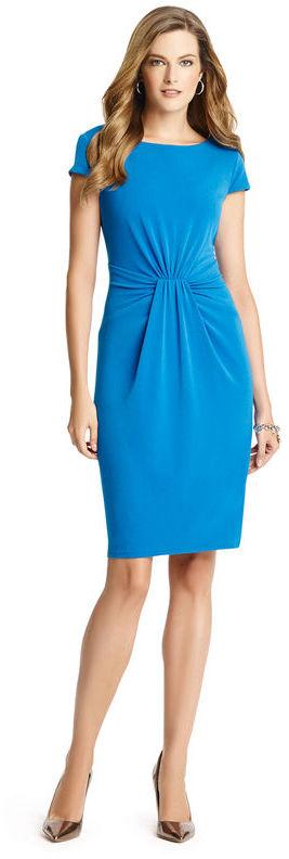 Anne Klein Crepe Jersey Dress