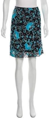 Dolce & Gabbana Embellished Lace Skirt