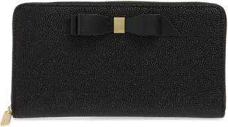 fd10be8a6 Ted Baker Aine Bow Leather Matinee Wallet