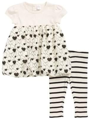 Nordstrom Dress & Leggings Set