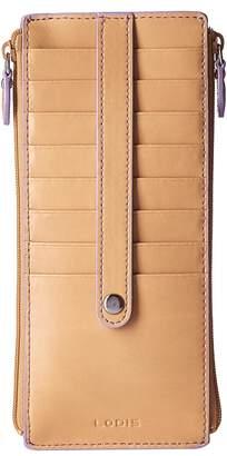 Lodis Audrey RFID Double Zip Card Case Wallet