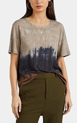 Raquel Allegra Women's Tie-Dyed Cotton-Blend Jersey T-Shirt