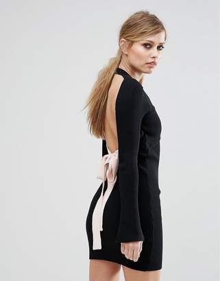 Asilio The Ivy League Open Back Dress