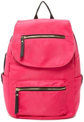 Madden Girl Proper Nylon Flap Backpack $68 thestylecure.com
