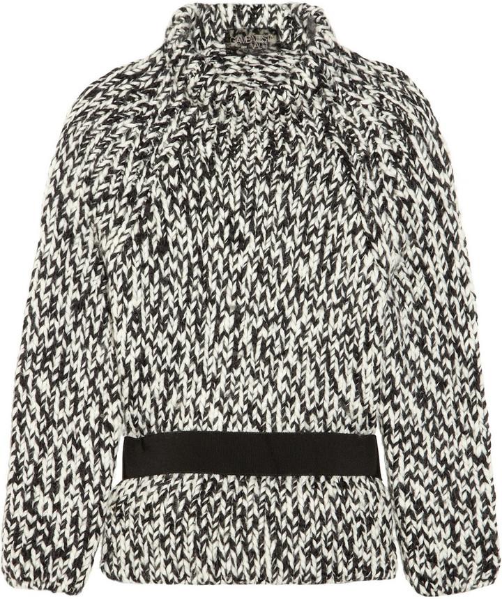 Giambattista Valli Belted wool sweater