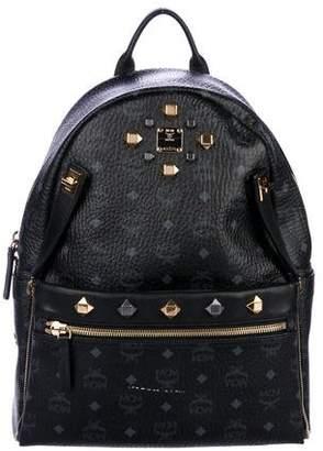 MCM Visetos Medium Stark Backpack