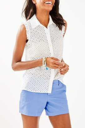 Lilly Pulitzer Lenox Button-Front Top