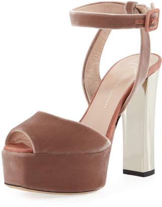 363e21ff4de7 Giuseppe Zanotti Ankle Strap Women s Sandals - ShopStyle