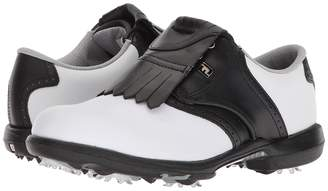 Foot Joy FootJoy DryJoys Cleated Traditional Blucher Saddle Women's Golf Shoes
