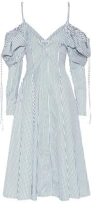 J.W.Anderson Exclusive to mytheresa.com off-the-shoulder cotton dress