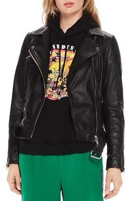 Scotch & Soda Signature Leather Moto Jacket