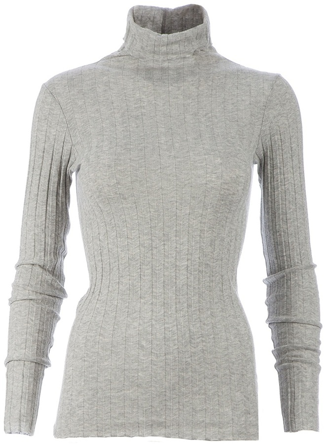 Enza Costa ribbed turtle neck sweater