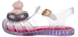 Mini Melissa Toddler Girls' Mini Aranha Jelly Sandals w/ Tags