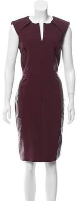 J. Mendel Sleeveless Sheath Dress