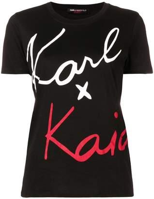Karl Lagerfeld X Kaia T-shirt
