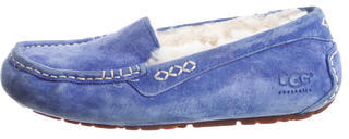 UGG Australia Shearling-Lined Moccasin Flats $65 thestylecure.com
