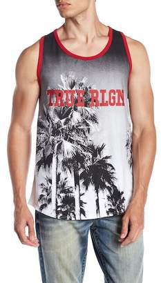 True Religion Palms Graphic Tank Top