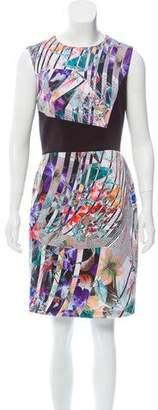 Betsey Johnson Printed Sleeveless Dress