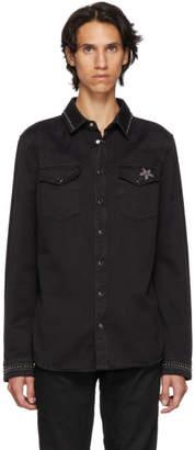Valentino Black Denim Shirt