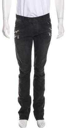 Balmain Slim Moto Jeans