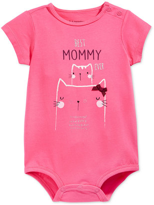 First Impressions Baby Girls' Best Mommy Ever Bodysuit, Only at Macy's $13 thestylecure.com