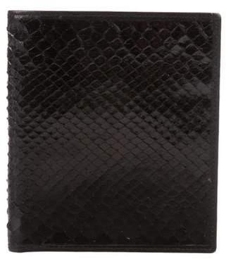 Christian Dior Python Bifold Wallet