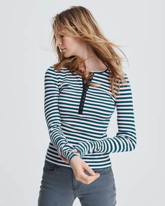 Rag & Bone Halifax henley long sleeve