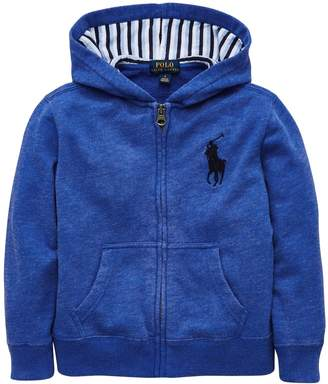 Ralph Lauren Classic Zip Through Hooded Jacket