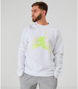 Nike Men's Jordan Mashup Jumpman Classics Fleece Crewneck Sweatshirt