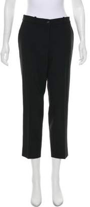 Michael Kors Mid-Rise Cropped Pants Black Mid-Rise Cropped Pants