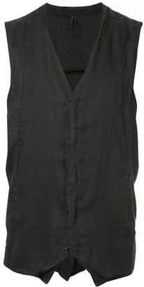 Masnada creased waistcoat
