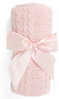 Nordstrom Baby Cable Knit Blanket $28 thestylecure.com