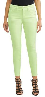 c17d4eb4514bc0 Sofia Jeans by Sofia Vergara Sofia Skinny Mid Rise Stretch Ankle Twill Jean  Women's (Lime
