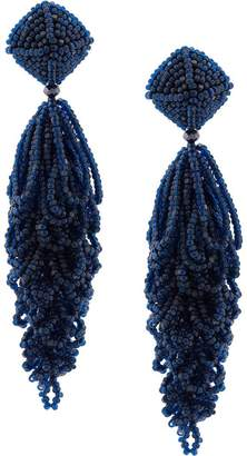 Sachin + Babi beaded chandelier earrings