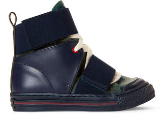 Stella McCartney Toddler/Kids Boys) Navy & Green High-Top Sneakers