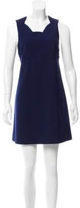 Tara Jarmon Scalloped Mini Dress w/ Tags