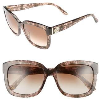 Juicy Couture Black Label 55mm Square Sunglasses