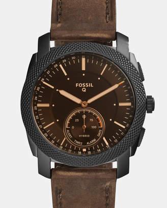 Fossil Hybrid Smartwatch Q Machine Brown