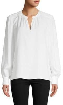 Saks Fifth Avenue Classic Long-Sleeve Blouse