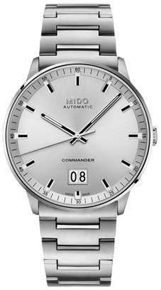 MIDO Commander II Skeleton Bracelet Watch, 42mm