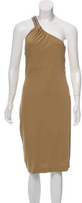 Ralph Lauren Black Label Asymmetrical Midi Dress