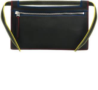 Elena Ghisellini Nia multi stitch pouch bag