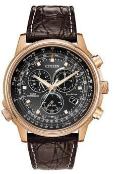 Citizen Mens Perpetual Chrono Limited-Edition AT4113-06E Watch