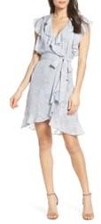 Pippa Elizabeth Crosby Ruffle Faux Wrap Dress