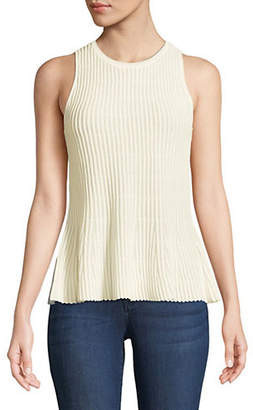 Theory Ribbed Knit Tank Top