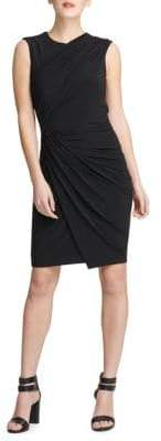 DKNY Draped Sheath Dress
