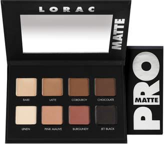 Lorac PRO Matte Palette $28 thestylecure.com