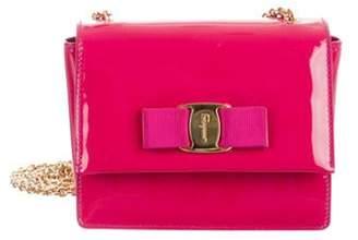 Salvatore Ferragamo Mini Miss Vara Crossbody Bag Fuchsia Mini Miss Vara Crossbody Bag
