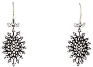 Co Gabriel & 14K Diamond Drop Earrings